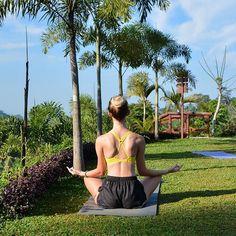 🌴🙏 Sunrise yoga was the perfect way to start the morning at Padma Resort Ubud… Sunrise Yoga, Ubud, Luxury Travel, Instagram Posts
