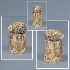 CARVED THIMBLE - HEDGEHOG in Collectables, Sewing/ Fabric/ Textiles, Thimbles | eBay /  17 Sep, 2014 / £16.99