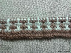 How to avoid yarn broaches on the wrong side when jacquard knitting - Knitting - My kopilochku Lace Knitting Patterns, Knitting Stiches, Knitting Designs, Baby Knitting, Stitch Patterns, Hand Knitted Sweaters, Knitted Blankets, Handgestrickte Pullover, Creative Knitting