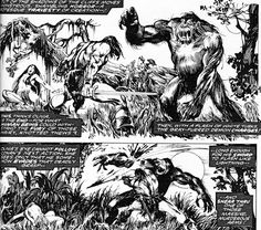 The 10 Most Brutal Moments in 'The Savage Sword of Conan'!