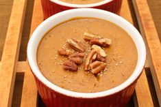 Pumpkin Custard Recipe (gluten-free & grain-free)