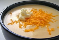 Zupa's  Wisconsin Cauliflower Soup...This stuff is good!