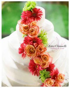 Wedding Cake | Wedding By Ester Chianelli Wedding & Event Planner www.esterchianelli.com