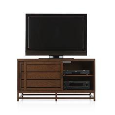 Room & Board: Sinclair 26h 60w Three-Drawer Media Cabinet (solid ...