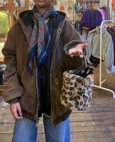 Aesthetic Clothes, Aesthetic Outfit, 90s Fashion, Fashion Outfits, My Vibe, Old Women, Brandy Melville, Plaid Scarf, Thrifting