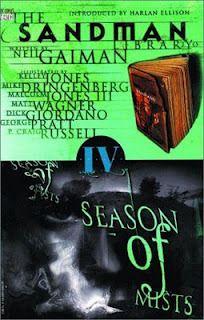 The Sandman, Vol. 4: Season of Mists by Neil Gaiman (1992) @goodreads #toread ... graphic novels, comics, fantasy, science fiction, supernatural