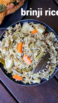 Vegetable Recipes, Vegetarian Recipes, Cooking Recipes, Vegetable Pulao Recipe, Veg Biryani Recipe Indian, Indian Food Recipes, Ethnic Recipes, Recipes In Tamil, Food Videos