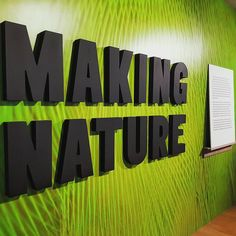 🐒🦅🐢🐞 Final week to see #MakingNature!  This exhibition examines what we think, feel and value about other species and the consequences this has for the world around us. And it closes on Sunday 21 May.  The photos of the questions above were taken of the artwork by Marcus Coates found just outside the exhibition.  The work 'Degreecoordinates. Shared Traits of the Hominini Apes (Humans, Bonobos and Chimpanzees)', 2015, was a collaboration with primatologist Volker Sommer. This work…