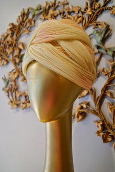 Vintage 60s Christian Dior Turban Hat