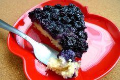 SWEET AS SUGAR COOKIES: Blueberry Upside-Down Cake - SRC
