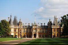 During the Victorian era, vast country houses by wealthy industrialists and bankers were built in a variety of styles. Waddesdon Manor in Buckinghamshire was built n the Neo-Renaissance style of a French chateau between 1874/1889 for Baron Ferdinand de Rothschild (1839|1898)