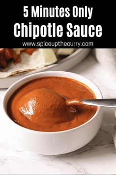 Burrito Sauce Recipe, Taco Sauce Recipes, Burger Sauces Recipe, Chipotle Recipes, Homemade Chipotle, Chipotle Sauce, Homemade Sauce, Gourmet Recipes, Mexican Food Recipes