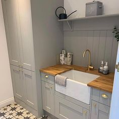 When your Utility room is as beautiful as a Kitchen? Small Utility Room, Farmhouse Kitchen Decor, Kitchen Design Small, Kitchen Remodel, Kitchen Design, Kitchen Cabinet Design, Kitchen Utilities, Kitchen, Custom Kitchen Cabinets
