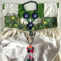 So amazing Summer Shirts with our Huichol necklaces at http://lasninastextiles.com/product/3-flower-huichol-necklace/, each one hand made, each one individual. #whomadeyourclothes #handmade #handembroidered #handsewn #huichol #fairtrade #artisan #folkart so proud to sell clothes handmade with love. 100% cotton. #gypsytraveller #lasninastextiles