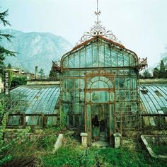 An abandoned greenhouse - 9GAG