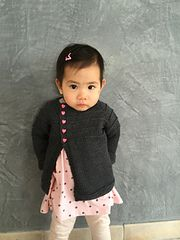 Peanut Warmer is a classic cardigan for any boy or girl.