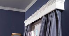 How to make window cornices.