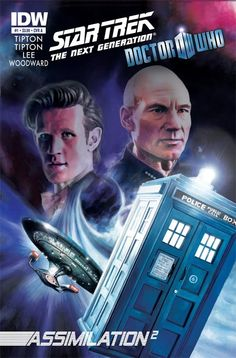 Not gunna lie... Canon comic crossover between ST:TNG and Doctor Who? It's a little exciting.