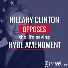 By Dave Andrusko National Right to Life You might think that with 2016 being the 40th anniversary of the Hyde Amendment; with Hillary Cli...