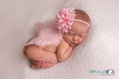 SOFT PINK NEWBORN Feather Wings Newborn Wings with by LilPinkGoose