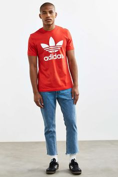 adidas Trefoil Tee - Urban Outfitters