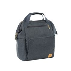 The Glam Goldie Backpack Anthracite is a real globe-trotter and combines functionality with stylish accents in a brilliant manner. The wide range of accessories also delights active mothers who want to look stylish and be well prepared...