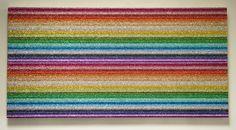Glitter Art | Kari Tarr | Glitter Double Spectrum