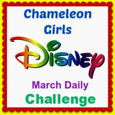 Chameleon Girls Disney March Challenge.  Win a Custom Felt Doll or GRAND PRIZE- Custom Felt Doll with 10 outfits/costumes.