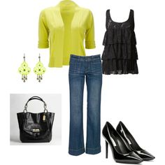 """love yellow"" by andwegodancing on Polyvore"