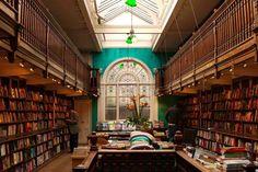 Daunt Books Marylebone in London, England