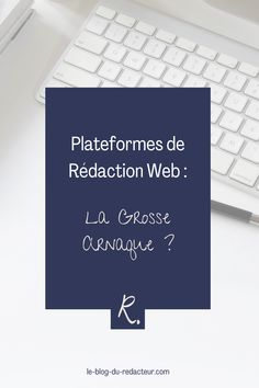 Les plateformes de rédaction web sont-elles indispensables quand on est rédacteur web débutant ? Avis d'une rédactrice web pro. Letter Board, Blog, Lettering, Good Jokes, Platform, Blogging, Drawing Letters, Brush Lettering
