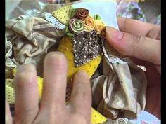 Рекламный ролик мастер-класса на DVD Сувенирная кукла с восковым покрытием.