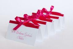 Pink esküvői ültetőkártya, szalagos ültetőkártya - pink wedding place cards Gift Wrapping, Pink, Gifts, Gift Wrapping Paper, Presents, Wrapping Gifts, Favors, Pink Hair, Gift Packaging