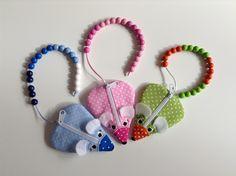 Rechenhilfen - ♥ Rechenkette ♥ Zählkette ♥ Zählmaus ♥ Schulanfang - ein Designerstück von Samariella bei DaWanda