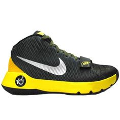 Chaussures Nike KD Trey 5 III Grise Jaune 749377-007