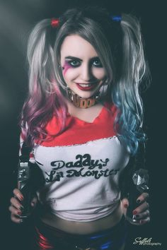 Supermaryface(USA) as Harley QuinnPhoto by:  Saffels Photography