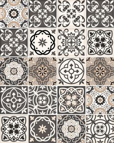 new spanish Set of 24 Tiles Decals Tiles Stickers Tiles for