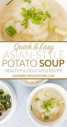 Easy Potato Recipes, Side Dish Recipes, Soup Recipes, Free Recipes, Food Dishes, Main Dishes, Side Dishes, Indian Food Recipes, Asian Recipes