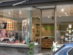 Obacht - Get your Bavarian chic on. A shop offering a proud and modern take on Bavarian kitsch. On offer are  handmade products branded with antlers, cuckoo clocks and cross-stitching that look unexpectedly cool.