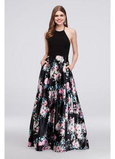 0dfdb0c2e29fd Long Ballgown Halter Formal Dresses Dress - Blondie Nites Plus Size Prom  Dresses
