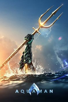 Check out a new poster for the upcoming DC film 'Aquaman', which stars Jason Momoa, Amber Heard, Nicole Kidman, and Patrick Wilson. Aquaman Film, Aquaman 2018, Hindi Movies, Dc Movies, Movie Tv, 2018 Movies, Free Movie Downloads, Full Movies Download, Disney Pixar
