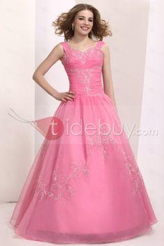 Estilo Dulce Vestido de Quinceañera con Largo al Piso Quinseañera dresses ♥LB♥ http://es.tidebuy.com