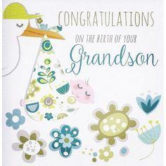 congratulations on birth of baby boy   Baby boy card - congratulations on  the birth on your g…   Baby congratulations card, Congratulations baby, New born  baby card