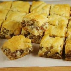 Crescent Sausage Biscuits