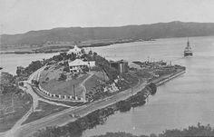 Vista general de casa del administrador de la central azucarera en Ensenada, Guánica, Puerto Rico (c1910)
