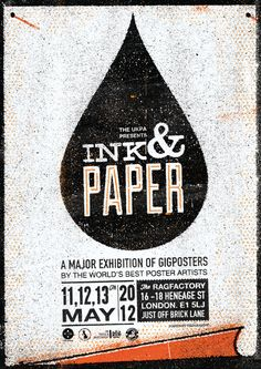 Ink and paper