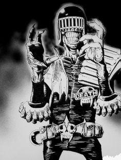 judge death | Judge Death by Ninja1987 on Newgrounds