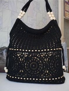 Macrame Purse Patterns Free : ... about Bolsos y zapatos on Pinterest Macrame Bag, Macrame and Purses