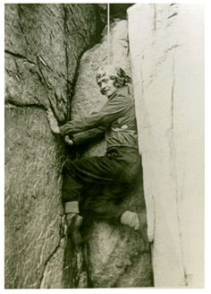 """Miriam O'Brien Underhill was an American mountaineer, environmentalist and feminist, best known for the concept of """"manless climbing"""" - organizing all-women's ascents of challenging climbs, mostly in the Alps."""