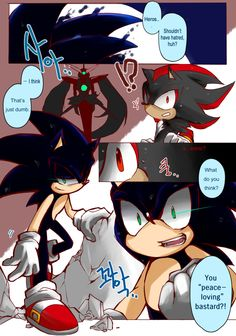 Dark sonic.  Sorry for the language, but this was just to cool not to repin.  ^.^""